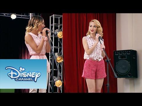 Violetta y Ludmila interpretan