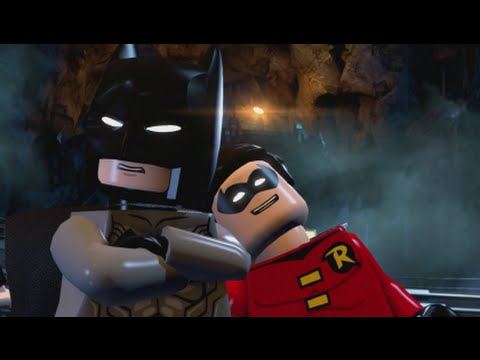 LEGO Batman 3 - 100% Guide #2 - Breaking BATS! (All Collecti