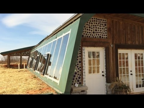 Georgia couple building off the grid home youtube for Building off the grid ana white