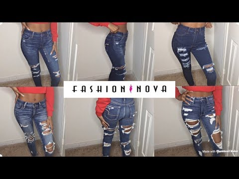 Fashion Nova Jean Try On Haul: Skinny Girl Approved! +American Eagle Jeans | Sizes 00 & 0