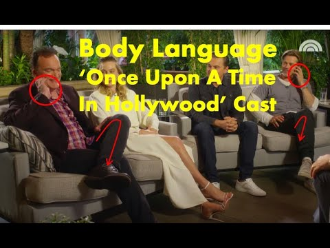 Body language: 'Once Upon a Time in Hollywood' cast