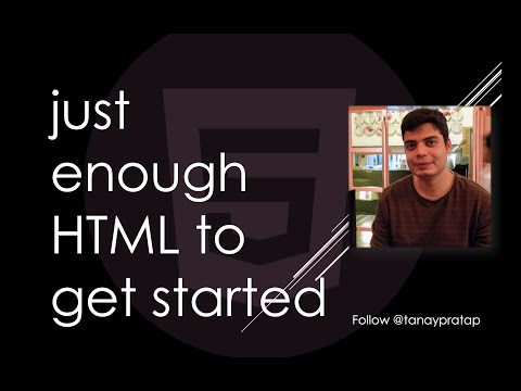 HTML - Learn HTML/CSS By Creating Your Portfolio I