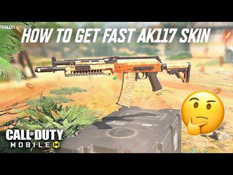 "CALL OF DUTY MOBILE - SEASON 6 HOW TO GET FAST AK117 ""FLOWING BRONZE"" SKIN! TUTORIAL GERMAN HD CODM"