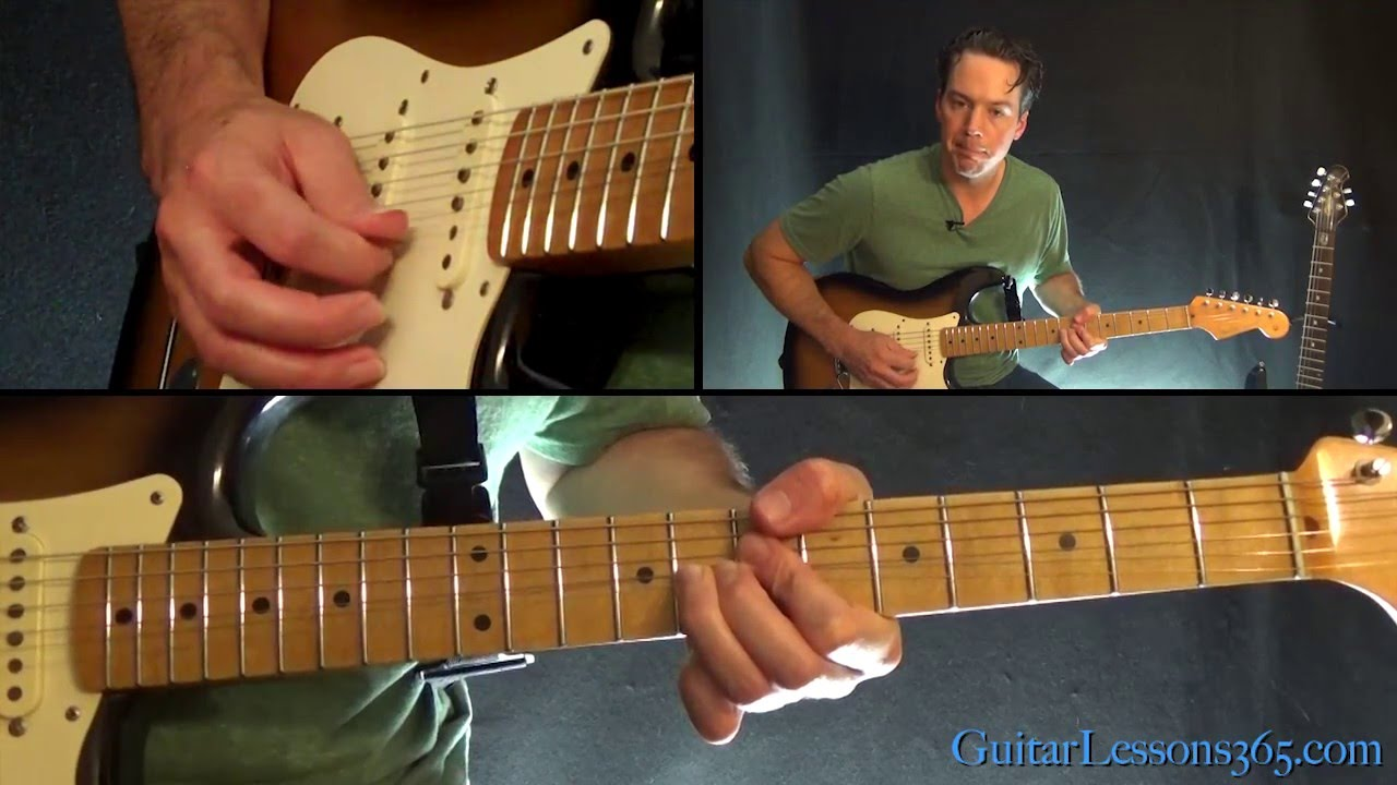 Smoke On The Water Guitar Solo Lesson Deep Purple Youtube