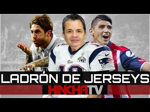 IMÁGENES EXCLUSIVAS DEL ROBO DEL JERSEY DE TOM BRADY| Hincha TV
