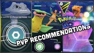 PVP ULTRA & GREAT LEAGUE RECOMMENDATIONS FOR POKEMON GO | PVP BATTLES