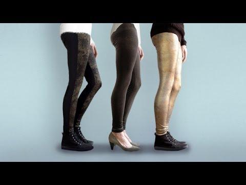 Trailer: Nähen mit elastischen Stoffen - Leggings einfach selber nähen