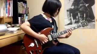 ギターを始めた当初、メインリフだけ弾いていたのが、最後まで弾けるよ...