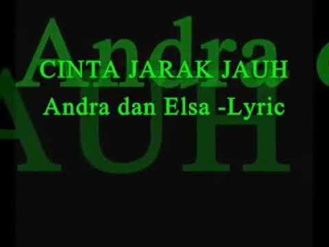 Cinta jarAk jauh Andra with elsa