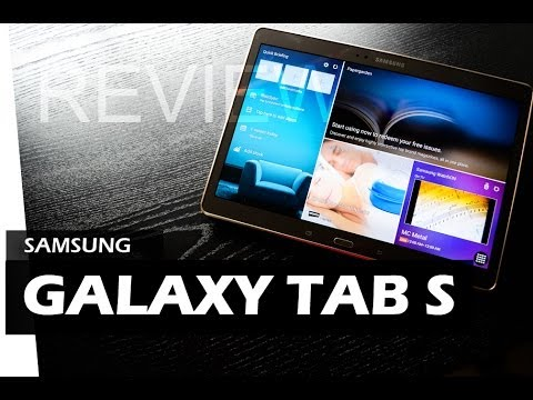 Samsung Galaxy Tab S - REVIEW