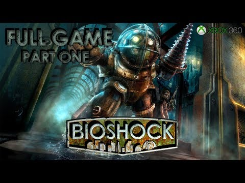 BioShock (Xbox 360) - Full Game 1080p60 HD Walkthrough Part One - No Commentary