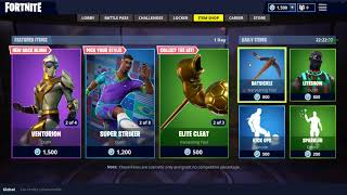 FORTNITE VENTURE SET AND SOCCER SKINS ARE BACK!! **VENTURA, MIDFIELD MAESTRO, AND ELITE CLEAT!**