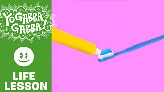 Learn with Plex - Brush Your Teeth - Yo Gabba Gabba!