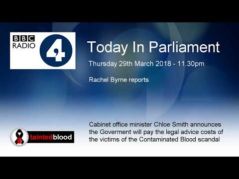 BBC Radio 4 : Today in Parliament - 29th March 2018