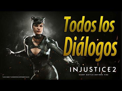 Injustice 2 | Español Latino | Todos los Diálogos | Gatúbela/Catwoman | PS4 |