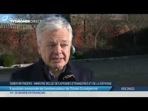"""Présidentielle RDC - """"Arrêter les violences en RD Congo"""" indispensable pour D.Reynders"""