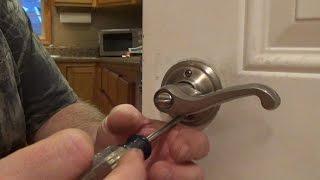 how to change a door knob easy