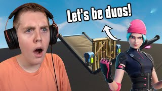I Hosted A 1v1 Tournament To Be My DUO PARTNER! - Fortnite Battle Royale