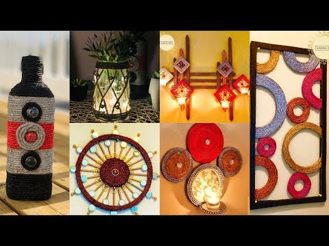 6 DIY Unique Home Decorating Ideas| gadac diy| jute craft ideas| room decorating ideas| diy crafts