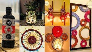 6 DIY Unique Home Decorating Ideas| gadac diy| jute craft ideas| room decorating ideas| diy crafts