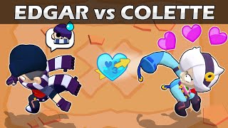 🖤EDGAR vs COLETTE 💘1vs1 | 27 Test