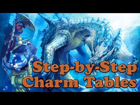 Monster Hunter 3 Ultimate - How To Manipulate Charm Tables Step-by-Step