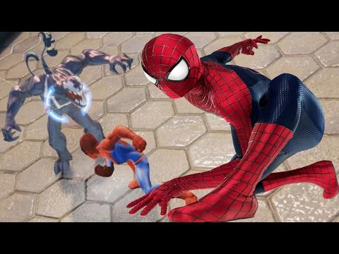 Incredible Spiderman vs monster