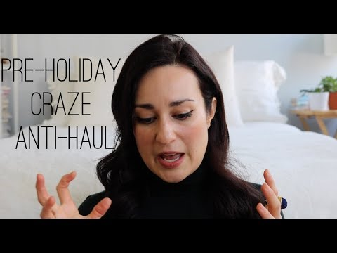(Eco) Beauty + Lifestyle Anti-Haul // To Inspire Consumer Vigilance this Holiday Shopping Season!