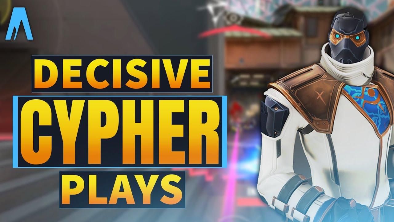 Decisive Cypher Plays - Valorant