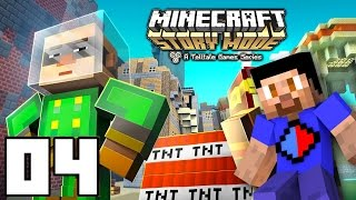 Minecraft: STORY MODE Episode 4 Part 1 - A Block and a Hard Place
