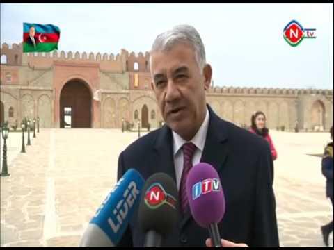 Binəqədi rayonunun nümayəndə heyəti Naxçıvan şəhərində səfərdə oldu - NTV