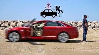 حاولت ارتكاب حادث ولكن السيارة منعتني - كاديلاك CT6