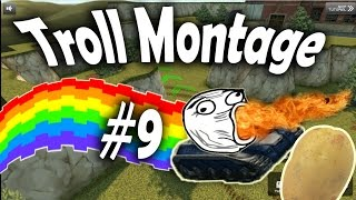 Tanki Online - Troll Montage #9 (Funny Video) Especial 5 000 Subs