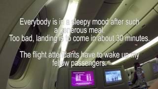 qatar airways cairo to bangkok in a380 800 first class