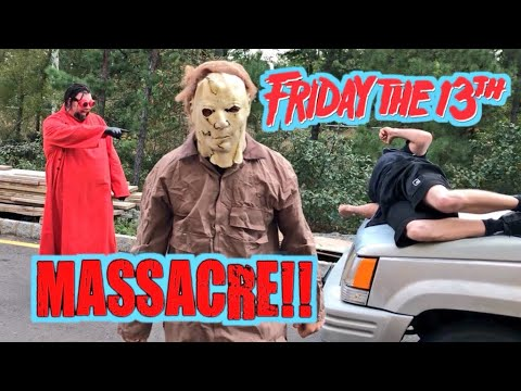 MICHAEL MYERS UNMASKED FRIDAY THE 13TH GTS WRESTLING SUPERCARD EVENT GONE CRAZY!