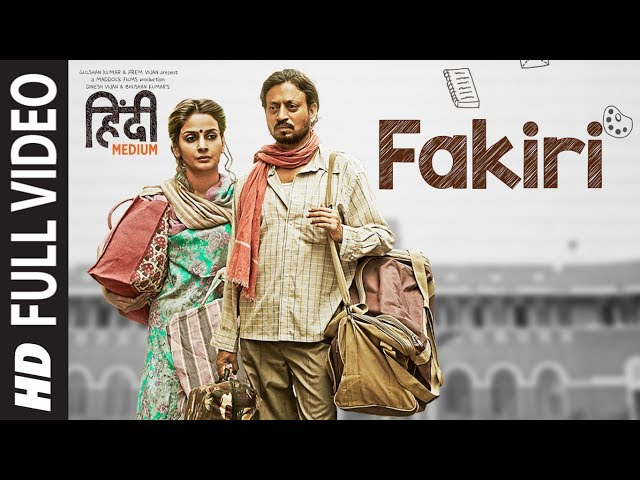 Fakiri Song (Full Video) | Irrfan Khan ,Saba Qamar |  Neeraj Arya | T-Series