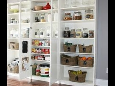 Kitchen Pantry Cabinet Ikea - YouTube