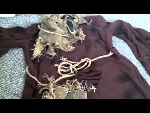 """Scre4m """"Ghostface"""" Scarecrow Costume Review"""