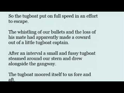 Tugboat in a sentence with pronunciation