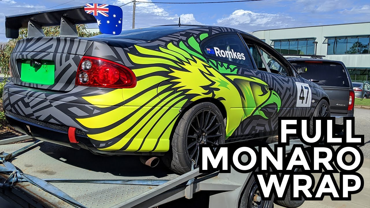 Holden Monaro Full Wrap
