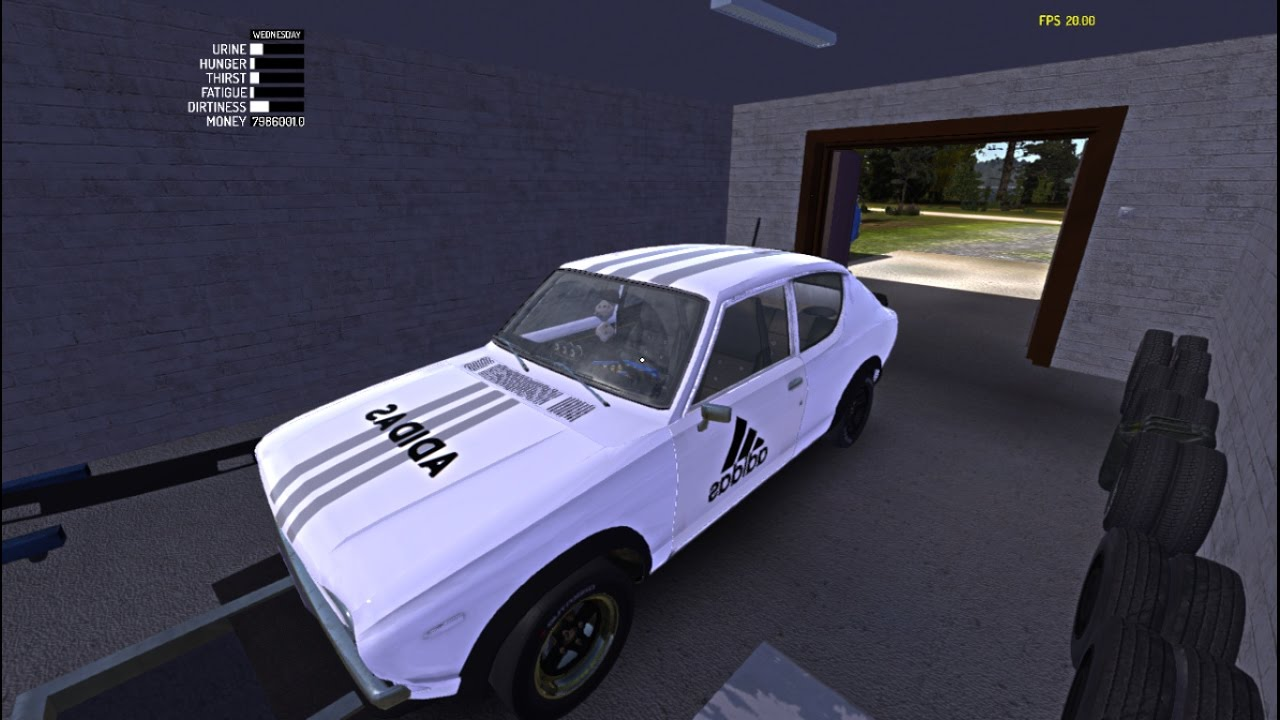 My Summer Car Adidas Skin