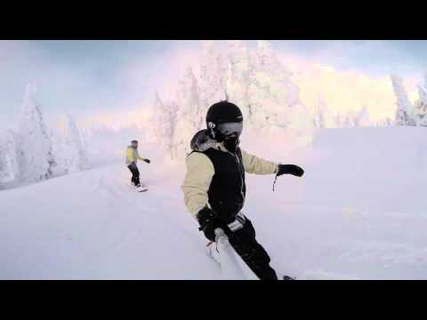 Big White Snowboarding 2015