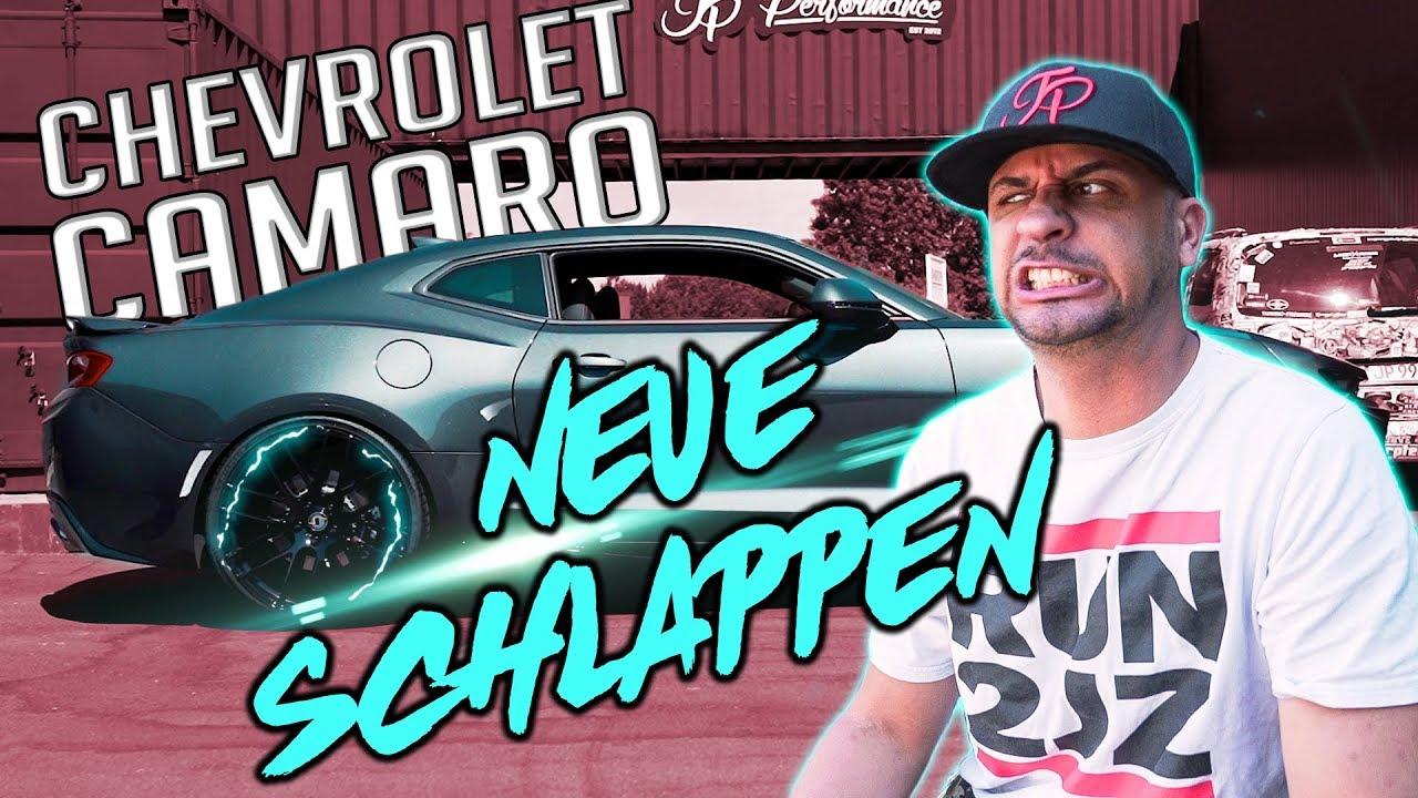 Jp Performance Chevrolet Camaro Neue Schlappen Youtube