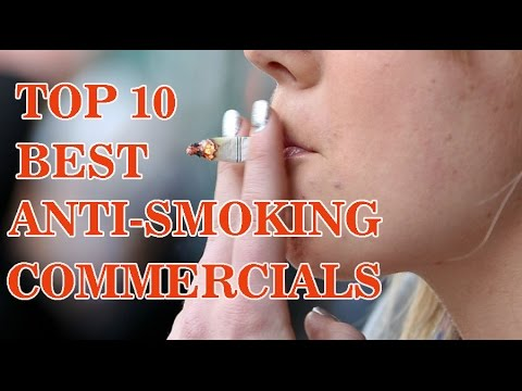 Top 10 Best Anti Smoking Commercials