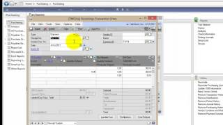 Overview of Landed Costs in Microsoft Dynamics GP