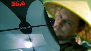 Напольные весы с подзарядкой от USB | алиэкспресс обзор
