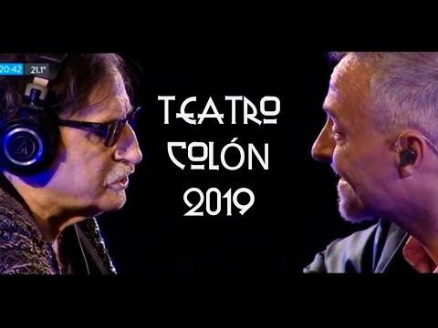 Confesiones de invierno - Pedro Aznar ft Charly García - Teatro Colón 2019