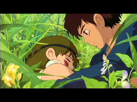 Anime Princess Mononoke Ashitaka To San Youtube