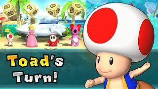 Mario Party 9 Solo Mode ◆Toad Blooper Beach Part 4 #323