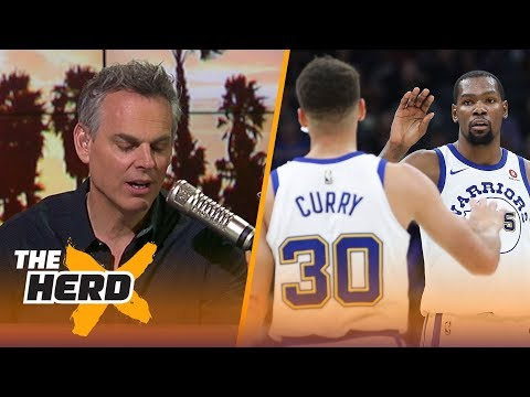Colin on the Durant-Curry tandem, rumors of LeBron considering the Warriors   NBA   THE HERD